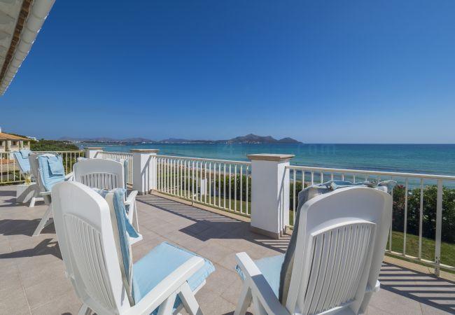 Ferienhaus in Platja de Muro - M4R 01. Villa Tagaste, Playa de Muro