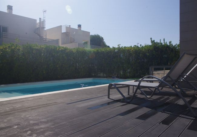 Ferienhaus in Platja de Muro - M4R 7. Parc Natural 2 Pool house Playa de Muro