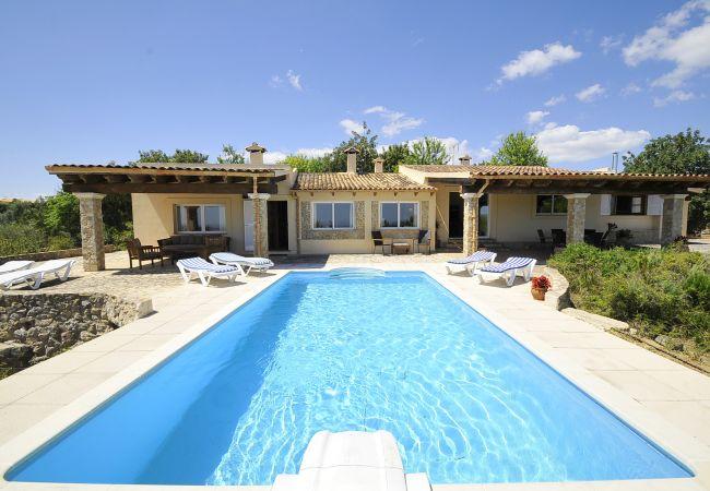 Ferienhaus in Inca - M4R Villa S'Olivaret authentic pool country house