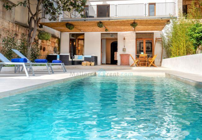 Ferienhaus in Sa Pobla - M4R 9. Ca na Capallina pool country house