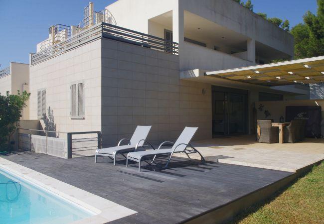 Maison à Platja de Muro - M4R 7. Parc Natural 2 Pool house Playa de Muro