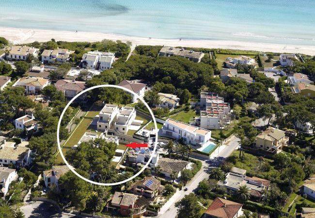 Maison à Platja de Muro - M4R 8. Parc Natural 3 Playa de Muro beach house