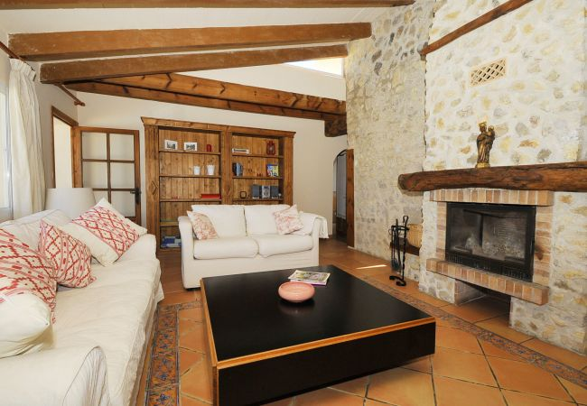 House in Inca - M4R Villa S'Olivaret authentic pool country house